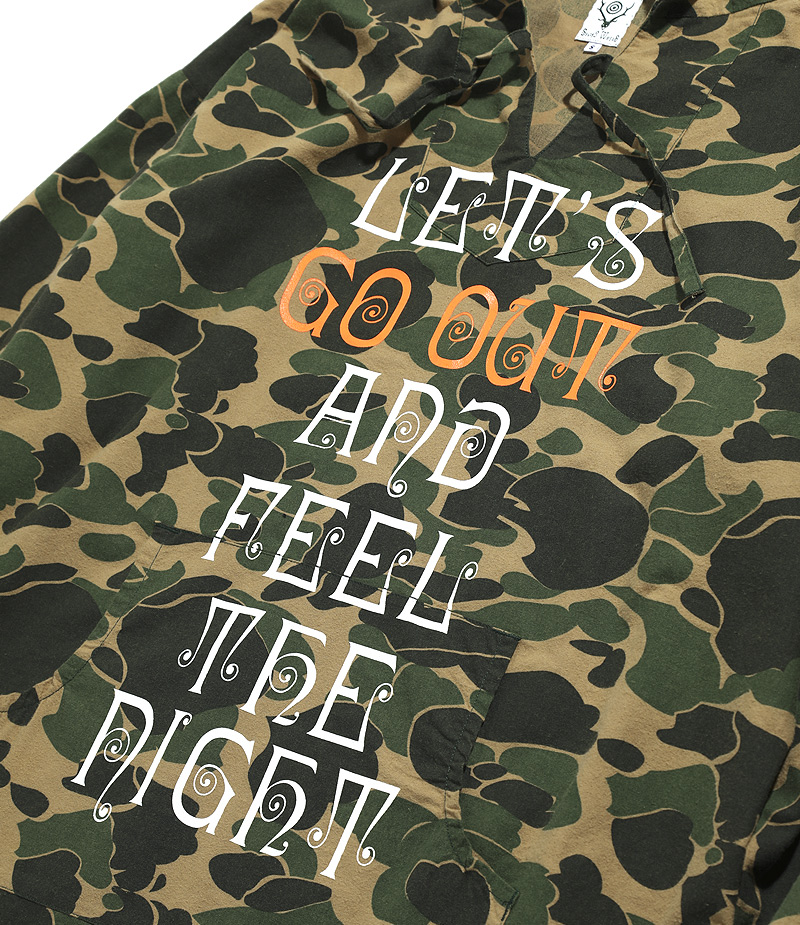〈SOUTH2 WEST8〉 MEXICAN PARKA – Exclusively for 「GO OUT Online」