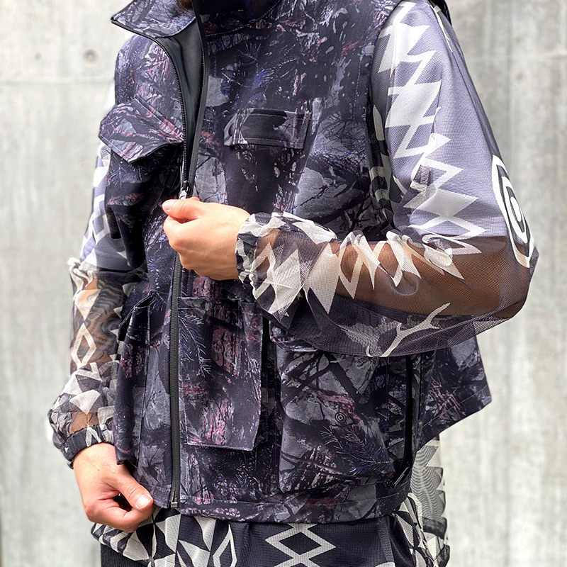 "〈SOUTH2 WEST8〉HIGH PERFORMANCE MATERIAL – 3LAYER ""S2W8 CAMO"""