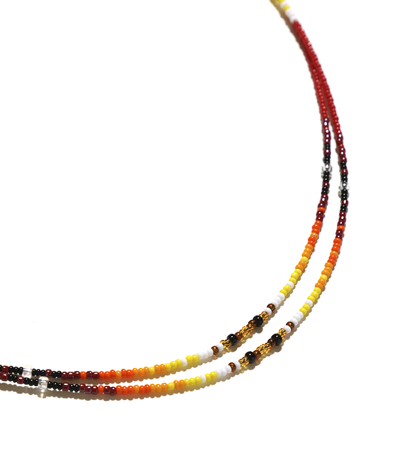 NEPENTHES WOMAN OSAKA – Grass Beads Nacklace by Chris Yazzie