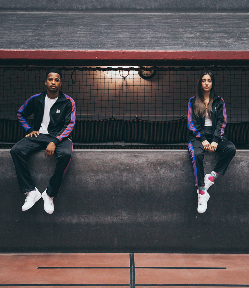 """NBA """"76ers CROSSOVER CAPSULE""""  〈NEEDLES〉x〈Lapstone and Hammer〉"""