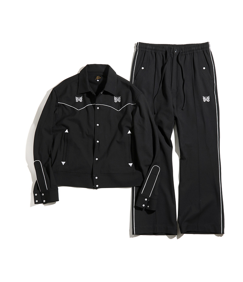 〈NEEDLES〉PIPING COWBOY JACKET & PANT