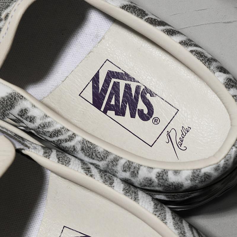 〈NEEDLES〉x〈VANS VAULT〉CLASSIC SLIP-ON – 9.12 発売決定