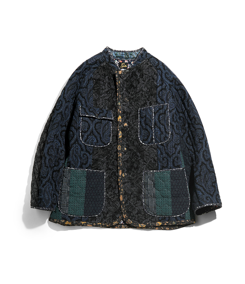 〈NEEDLES〉 SWITCHED QUILT CHORE COAT in STORE