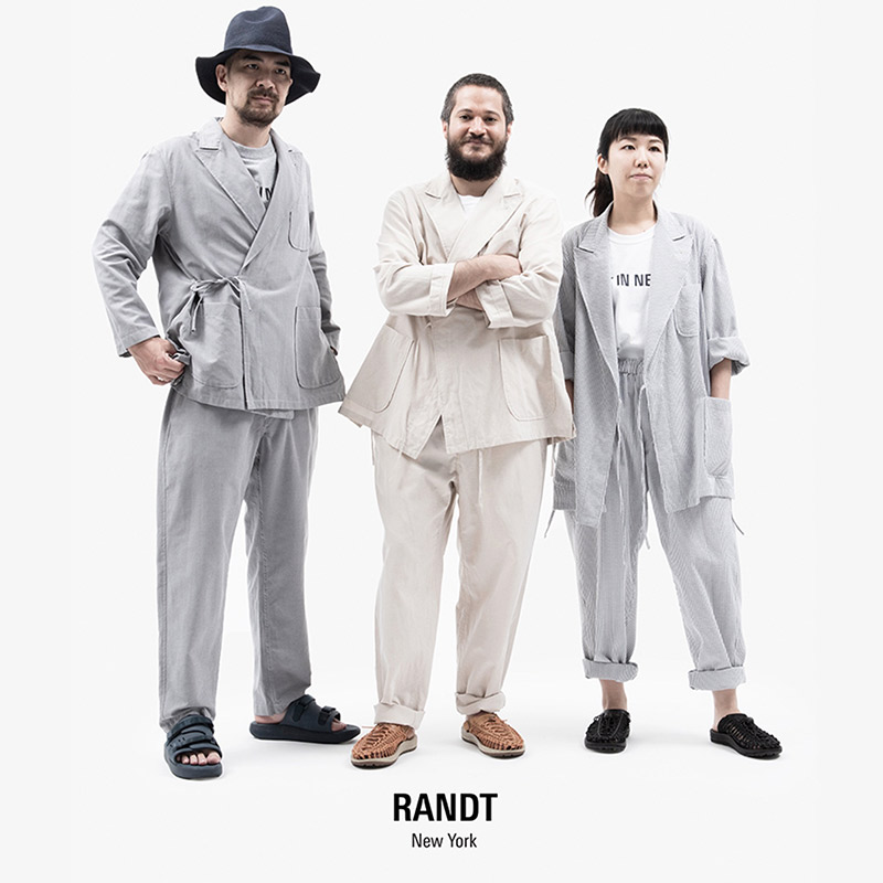 〈RANDT〉 NEW PRODUCTSCOMFY JACKET & PANT in STORE