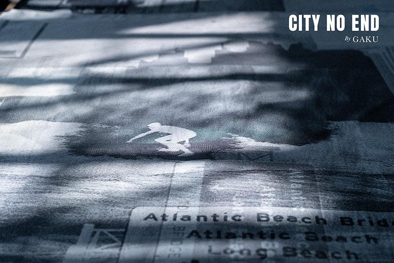 """CITY NO END""  by Manabu Inada"