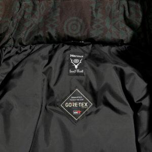 W.E.T. DOWN JACKET - NATIVE PATTERN / GORE-TEX ¥107,800